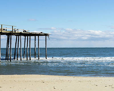 Photograph - Oc Fish Pier After The Storm by SG Atkinson