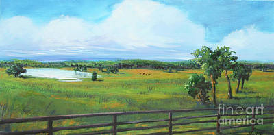 Painting - Ocala Downs by Michele Hollister - for Nancy Asbell