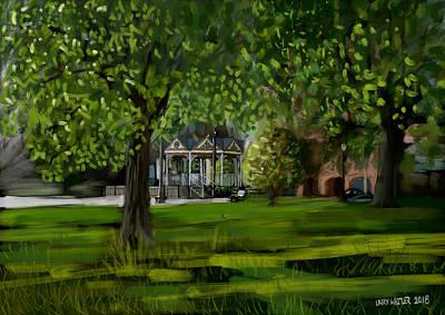 Digital Art - Ocala by Larry Whitler