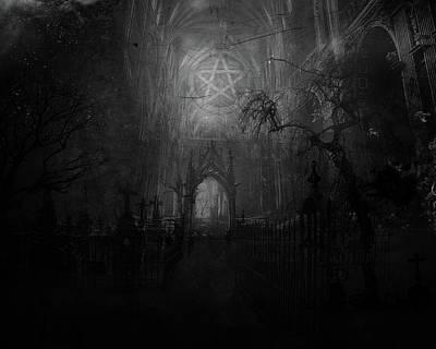 Pattern Digital Art - Occult by Maye Loeser