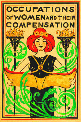 Painting - Occupations Of Women And Their Compensation by Peter Gumaer Ogden