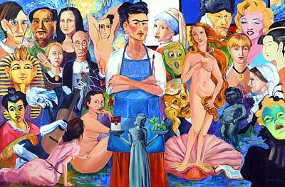 Occupy Painting - Occupy Art by Judi Krew