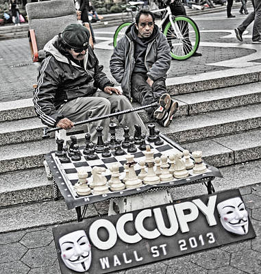 Photograph - Occupy Wall Street by Steve Archbold