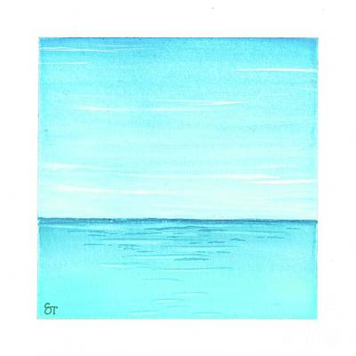 Painting - Ocean 1 by Stephanie Troxell