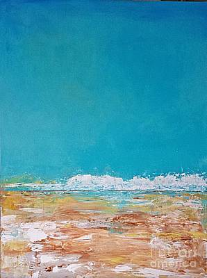 Painting - Ocean 3 by Diana Bursztein
