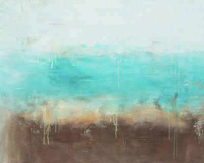 Ocean Abstract Art Print by Jamaal Moore