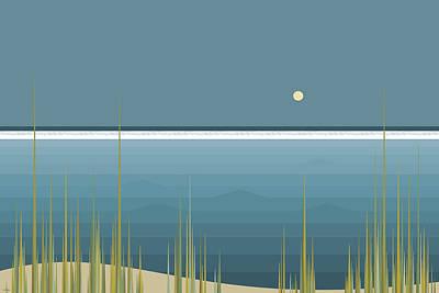 Digital Art - Ocean Abstract by Val Arie