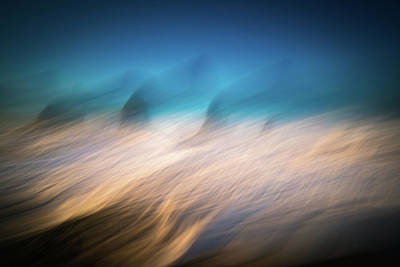 Photograph - Ocean Abstract by William Lee