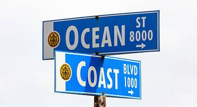 Photograph - Ocean And Coast by Mark Harrington