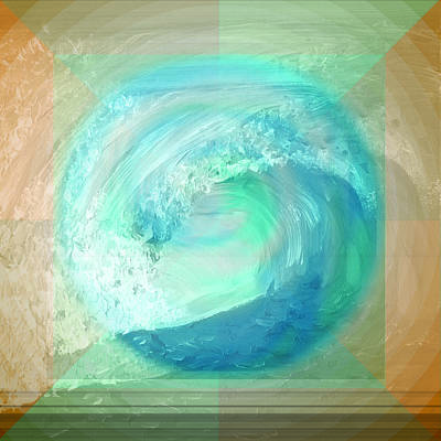 Painting - Ocean And Earth by Shelley Myers