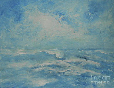 Painting - Ocean And Sky 2 by Jane See