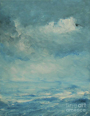 Painting - Ocean And Sky by Jane See