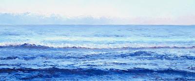 Painting - Ocean Art - Cobalt Blue Ocean by Jan Matson