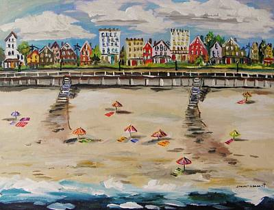 Jmwportfolio Painting - Ocean Ave By John Williams by John Williams