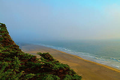 Photograph - Ocean Beach Evening by Bonnie Follett
