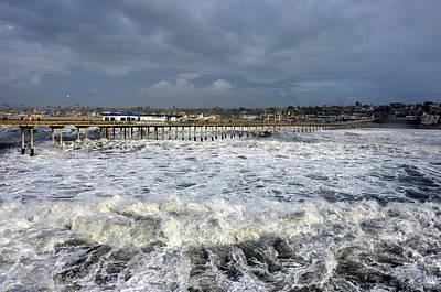 Photograph - Ocean Beach Pier And Coastline by Carla Parris