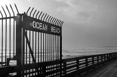 Photograph - Ocean Beach Pier by Carla Parris