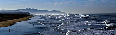 Art Print featuring the photograph Ocean Beach San Francisco by Steve Siri