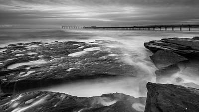 Photograph - Ocean Beach Tidepools And Pier by Alexander Kunz