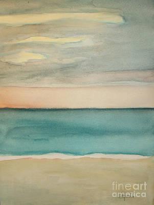 Wall Art - Painting - Ocean Beach by Vesna Antic