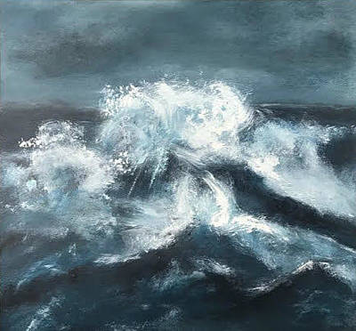 Painting - Ocean Below II by Analisa Chase