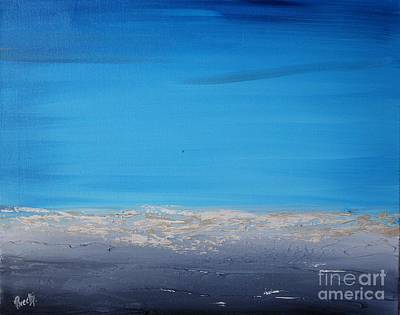 Painting - Ocean Blue 2 by Preethi Mathialagan