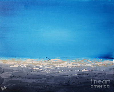 Painting - Ocean Blue 4 by Preethi Mathialagan