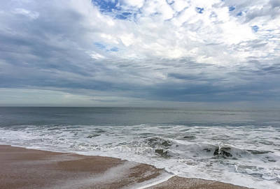 Photograph - Ocean Blue by Claire Turner