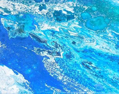 Mixed Media Royalty Free Images - Ocean Blue -TAC Royalty-Free Image by Darin Black