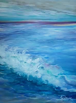 Painting - Ocean Blue by Jan VonBokel