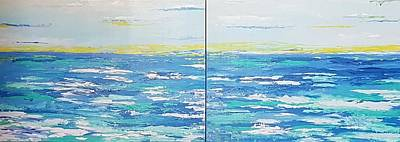 Painting - Ocean Blue by Judi Goodwin
