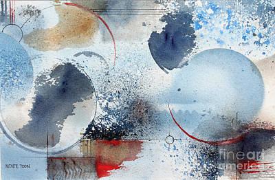 Ocean Blue Art Print by Monte Toon