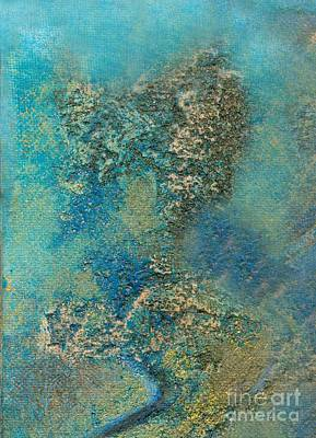 Painting - Ocean Blue Abstract Art by Philip Bowman