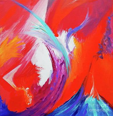 Painting - Ocean Breeze by Expressionistart studio Priscilla Batzell