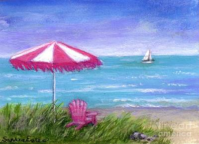 Ocean Breeze Art Print by Sandra Estes