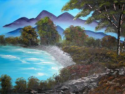 Ocean Breezes Art Print by Sheldon Morgan
