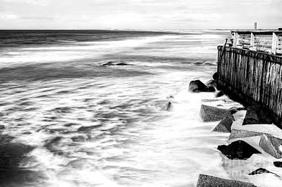 Photograph - Ocean Calm At Lbi by John Rizzuto