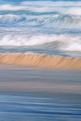 Waves Photograph - Ocean Caress by Az Jackson