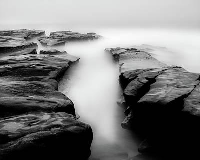 La Jolla Photograph - Ocean Channel by Joseph Smith