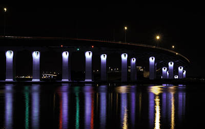 Photograph - Ocean City - 9th Street Bridge by Kristia Adams