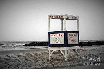 Photograph - Ocean City Beach  by Denise Pohl