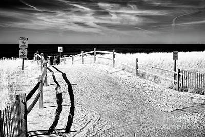 Photograph - Ocean City Beach Entry by John Rizzuto