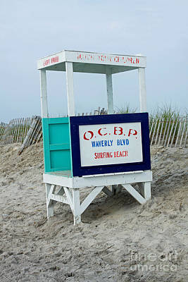 Photograph - Ocean City Beach Scene by Denise Pohl