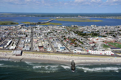 Photograph - Ocean City Boardwalk 2 by Dan Myers