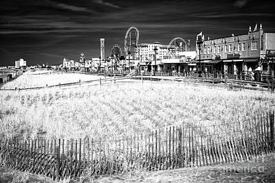 Photograph - Ocean City Dune View by John Rizzuto