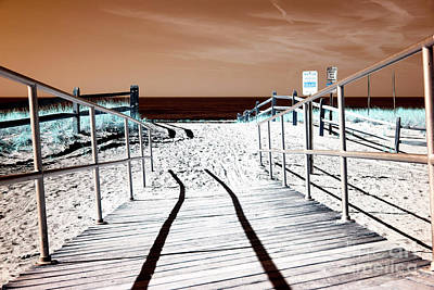 Photograph - Ocean City Entry Shadow by John Rizzuto
