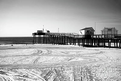 Photograph - Ocean City Fishing Pier by John Rizzuto
