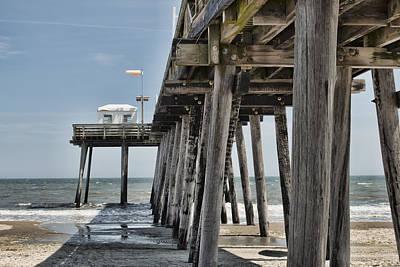 Photograph - Ocean City Fishing Pier by Kristia Adams