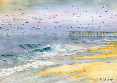 Ocean City Maryland Art Print