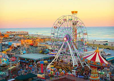 Ocean City New Jersey Boardwalk Art Print